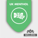 Millers Silverline E-Liquid UK Menthol