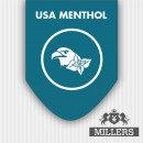 Millers Silverline E-Liquid USA Menthol