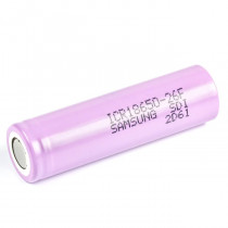 Samsung Rechargeable Li-ion 18650 Battery 2600 mAh