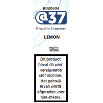 @37 E-Liquid Lemon
