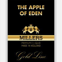 Millers Goldline E-Liquid The apple of Eden