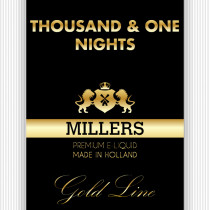 Millers Goldline E-Liquid Thousand One Nights