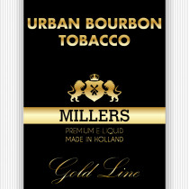 Millers Goldline E-Liquid Urban Bourbon Tobacco