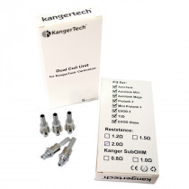 Kanger Dual Bottom Coil Upgraded
