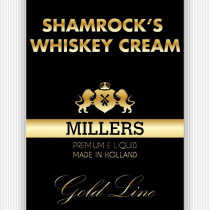 Millers Goldline E-Liquid Shamrock Whiskey Cream