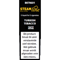 Steamline E-Liquid Turkish Tobacco