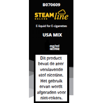 Steamline E-Liquid USA Mix