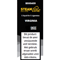 Steamline E-Liquid Virginia Tobacco